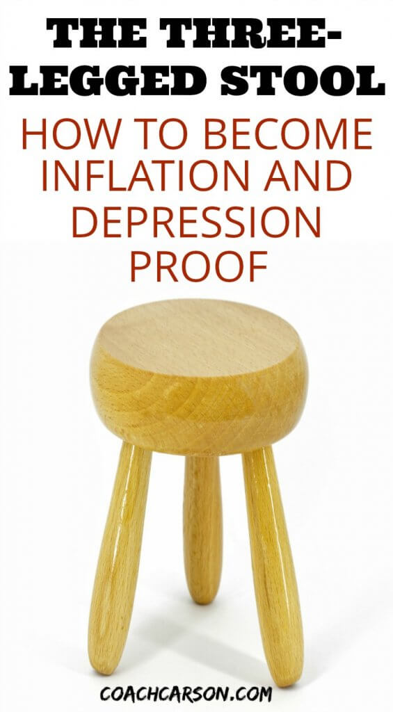 the three-legged stool - how to become inflation and depression proof