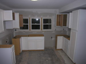rental house appreciation - remodel - kitchen