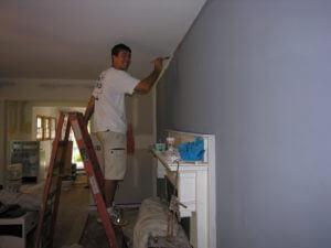 rental house appreciation - living room