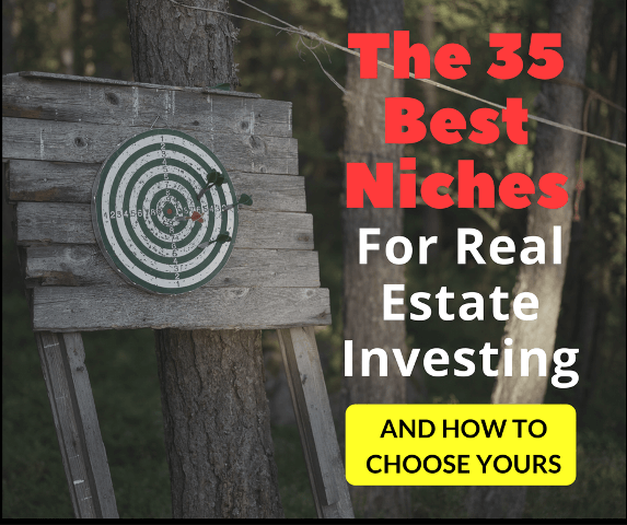 The 35 Best Niches For Real Estate Investing - Picture of a Bulls eye target
