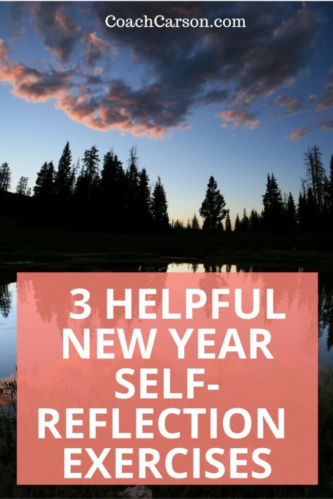 3 New Year Self-Reflection Exercises