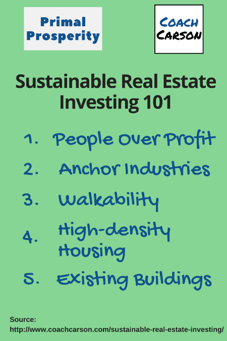 sustainable real estate investing 101