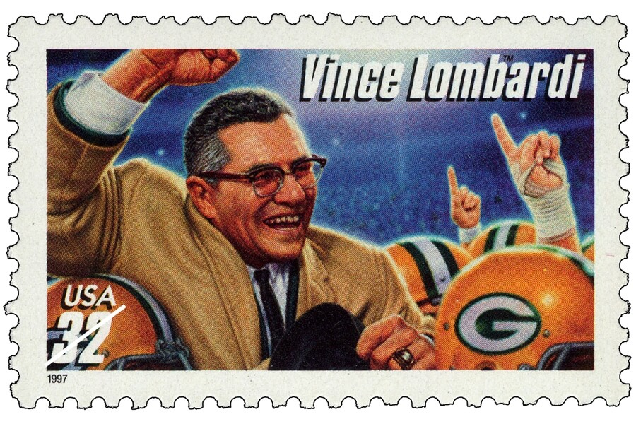 Coach Vince Lonbardi - simple execution wins championships