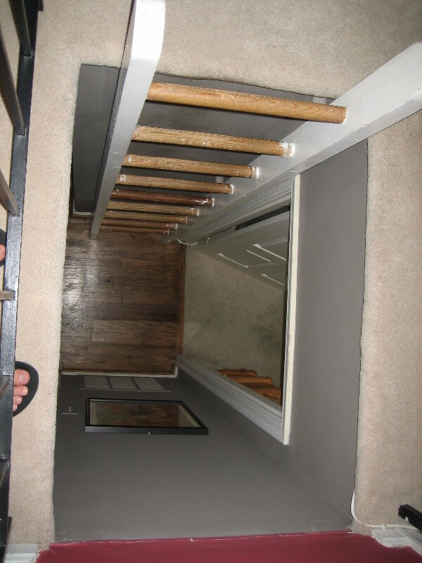 From Accidental Landlord to Positive Cashflow - Ladder to loft space - above