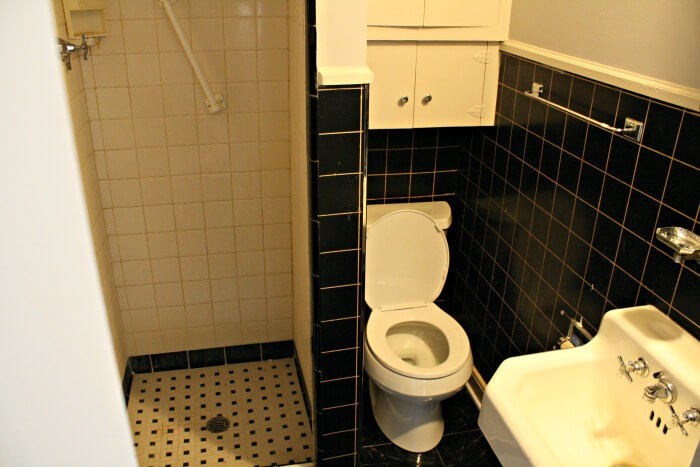 nice, clean bathroom in the first Alabama rental - Real Estate Investing While Overseas in the Military