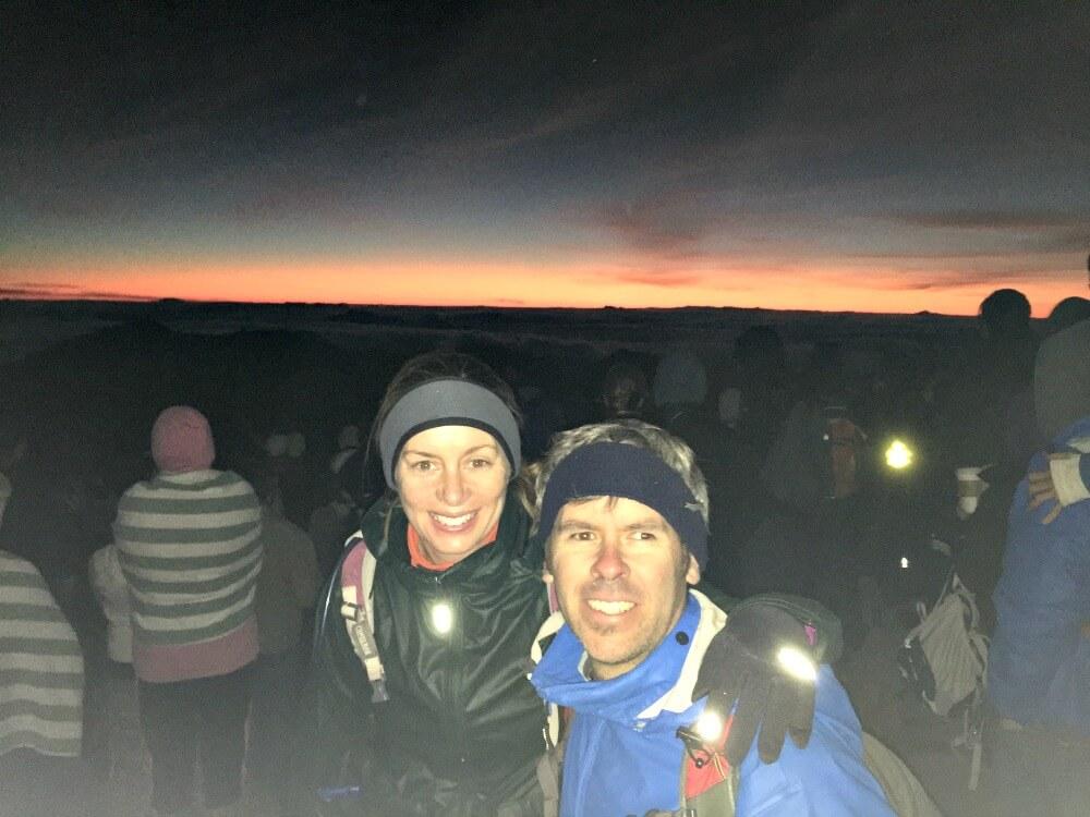 Financial Independence Using Real Estate Crowdfunding Loans - sunrise Haleakala Crater