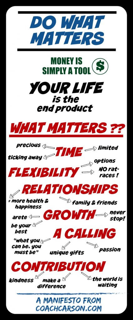 Do What Matters - the manifesto - pinterest image