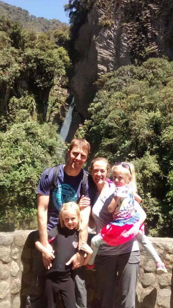 Carson family banos ecuador