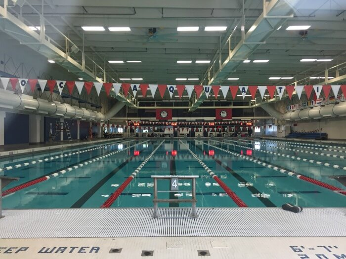 The pool at the US Olympic Training Center in Colorado Springs - From Corporate Career to Financial Independence in His 50s