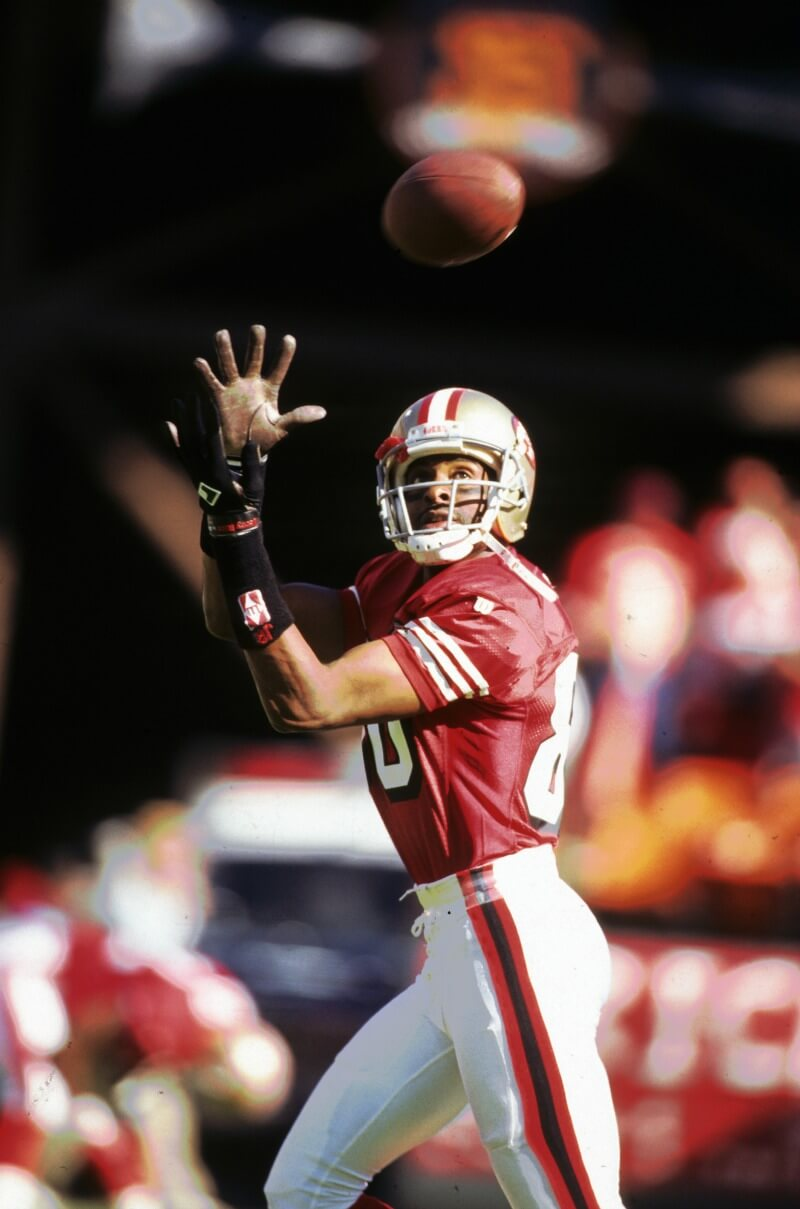 hustle - picture of jerry rice