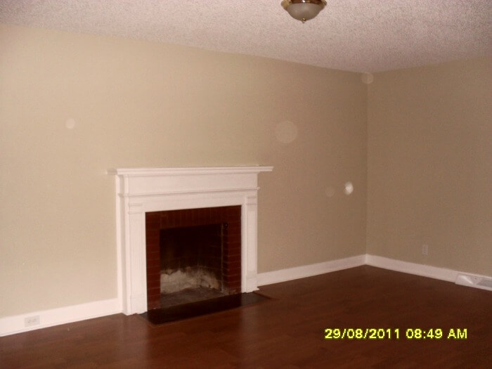 rental house - living room
