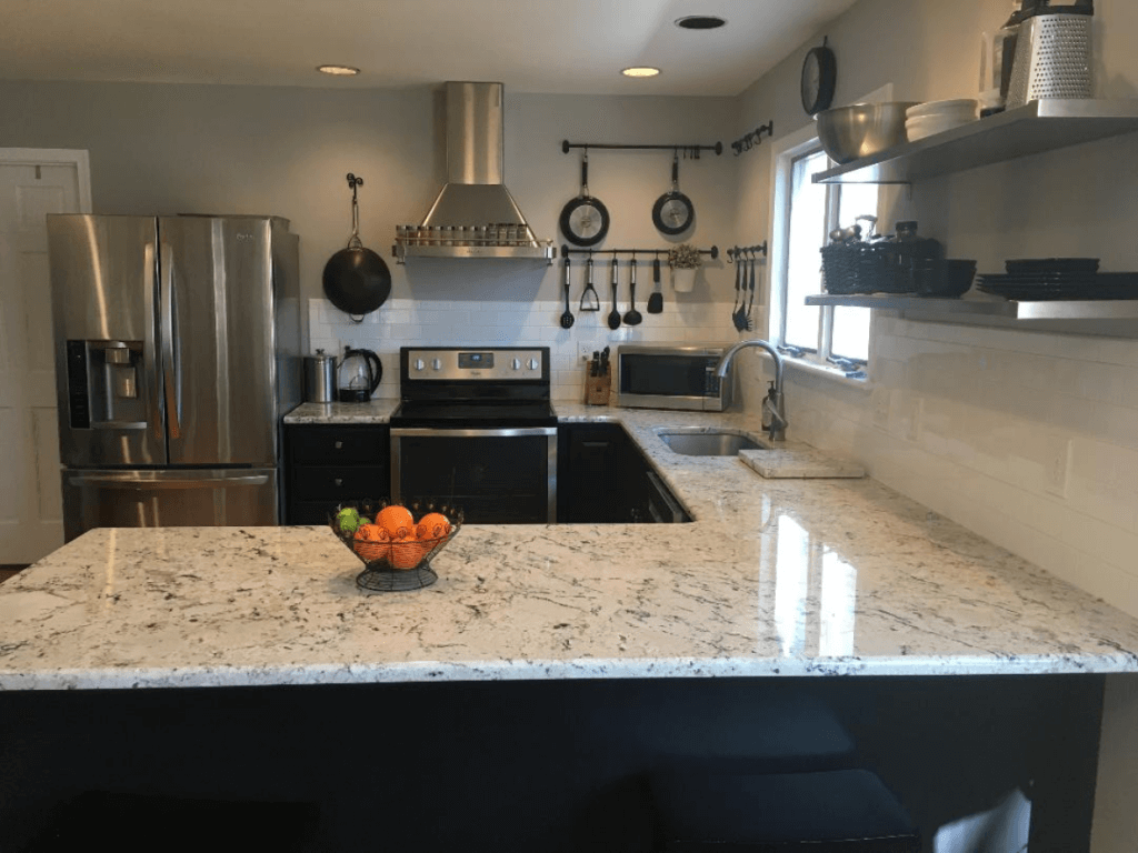 kitchen - new house - after - How a Busy Mom Found Financial Freedom Through Real Estate Investing