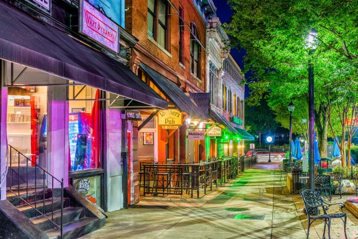 Athens Georgia - Old Town District - Big Shifts Ahead - Demographic Clarity For Businesses