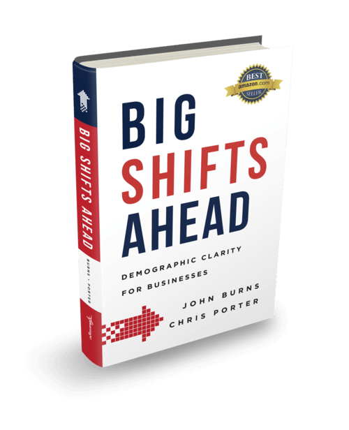 Book Cover - Big Shifts Ahead - Demographic Clarity For Businesses