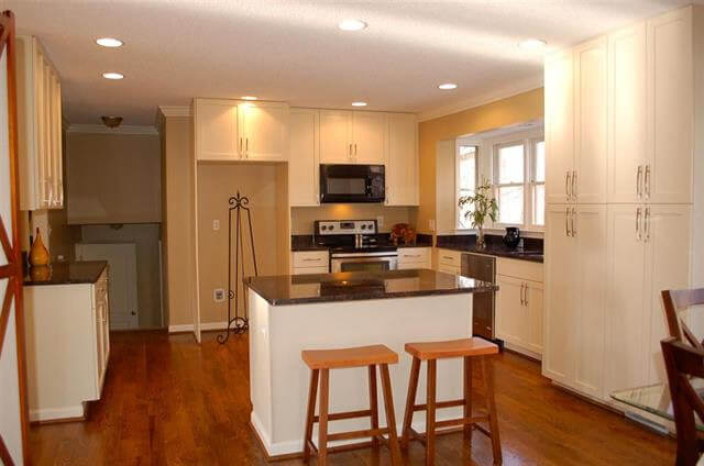 Kitchen after remodeling - Class A- property - Where to Buy an Investment Property
