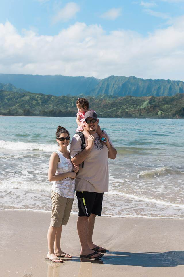 family trip to Kauai, Hawaii - From Bookkeeper to Real Estate Millionaire in 11 Years