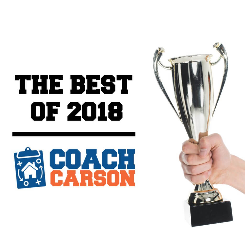 Article image - trophy - The Best of 2018 Coach Carson