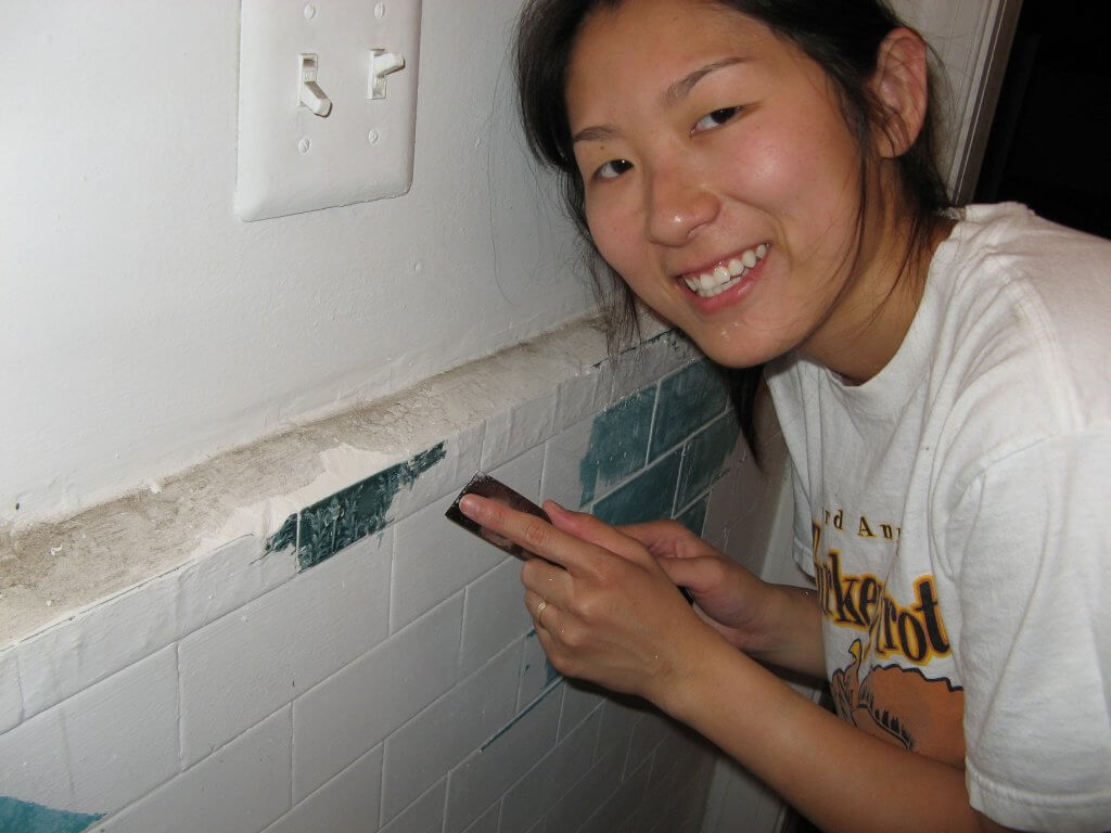 Annie Renovating Wall - From House Hacking to Passive Syndication Investing