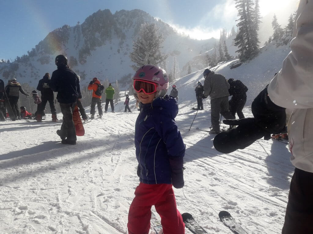 Chris Mamula - ski day with his daughter